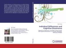 Couverture de Individual Differences and Cognitive Dissonance