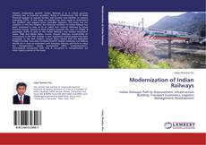 Capa do livro de Modernization of Indian Railways