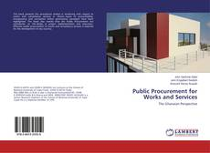 Public Procurement for Works and Services kitap kapağı