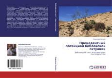 Bookcover of Прецедентный потенциал библейской ситуации