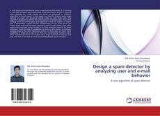 Buchcover von Design a spam detector by analyzing user and e-mail behavior