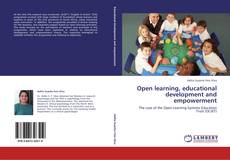 Bookcover of Open learning, educational development and empowerment