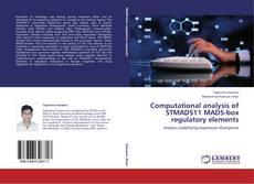 Couverture de Computational analysis of STMADS11 MADS-box regulatory elements