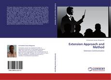 Bookcover of Extension Approach and Method