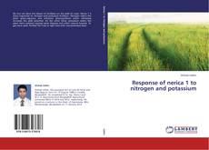 Portada del libro de Response of nerica 1 to nitrogen and potassium