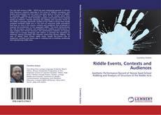 Capa do livro de Riddle Events, Contexts and Audiences