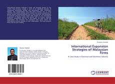 Bookcover of International Expansion Strategies of Malaysian Firms