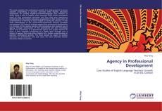 Portada del libro de Agency in Professional Development
