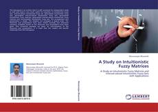 Buchcover von A Study on Intuitionistic Fuzzy Matrices