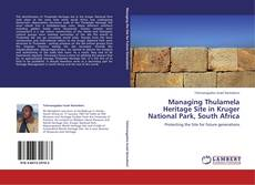 Bookcover of Managing Thulamela Heritage Site in Kruger National Park, South Africa