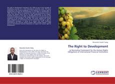 Bookcover of The Right to Development