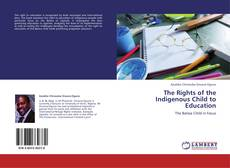 Bookcover of The Rights of the Indigenous Child to Education