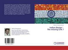 Copertina di Indian Design -   The missing Link ?