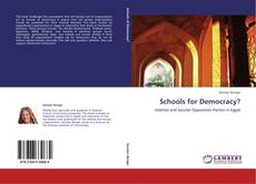 Bookcover of Schools for Democracy?