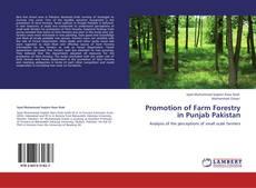 Обложка Promotion of Farm Forestry in Punjab Pakistan