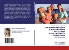Bookcover of Межпоколенноое наследование паттернов супружеского поведения