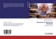 Bookcover of Elements of Statistical Methods