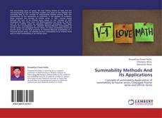 Capa do livro de Summability Methods And Its Applications