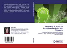 Couverture de Academic Success of Emotionally Disturbed Students