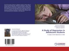 Buchcover von A Study of Depression in Adolescent Students
