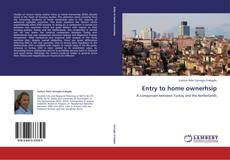 Bookcover of Entry to home ownerhsip