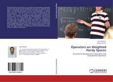 Portada del libro de Operators on Weighted Hardy Spaces