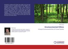 Copertina di Environmental Ethics