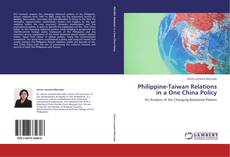 Bookcover of Philippine-Taiwan Relations in a One China Policy