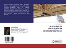 Эргономика информации的封面