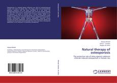 Portada del libro de Natural therapy of osteoporosis
