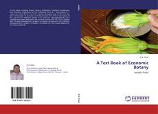 Portada del libro de A Text Book of Economic Botany