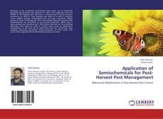Buchcover von Application of Semiochemicals for Post-Harvest Pest Management