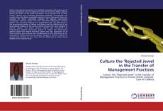Bookcover of Culture the 'Rejected Jewel in the Transfer of Management Practices