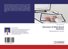 Bookcover of Overview of Web Based Business