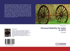 Bookcover of Personal Mobility for India in 2016