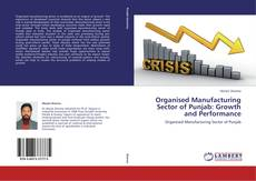 Organised Manufacturing Sector of Punjab: Growth and Performance的封面