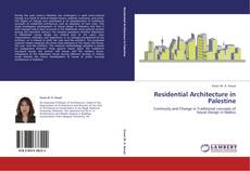 Bookcover of Residential Architecture in Palestine