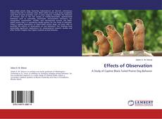 Bookcover of Effects of Observation