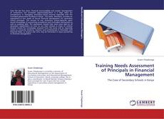 Buchcover von Training Needs Assessment of Principals in Financial Management
