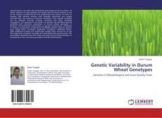 Portada del libro de Genetic Variability in Durum Wheat Genotypes