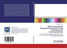 Portada del libro de Role of Academic Departments Heads in the Promotion of Communication