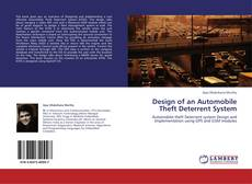 Bookcover of Design of an Automobile Theft Deterrent System