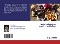 Portada del libro de Women's impact on development in India