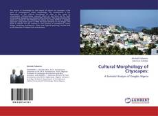 Bookcover of Cultural Morphology of Cityscapes: