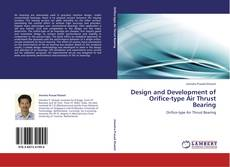 Portada del libro de Design and Development of Orifice-type Air Thrust Bearing