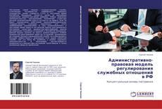Bookcover of Административно-правовая модель регулирования служебных отношений в РФ