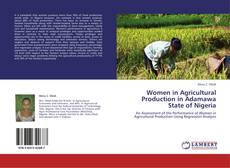 Portada del libro de Women in Agricultural Production in Adamawa State of Nigeria