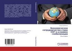Buchcover von Экономическое сотрудничество стран СНГ в условиях глобализации