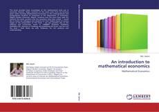Capa do livro de An introduction to mathematical economics