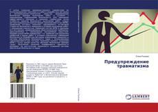 Buchcover von Предупреждение травматизма